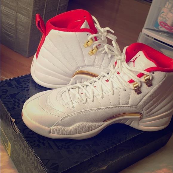Jordan Shoes Air 12 Retro Fiba Poshmark